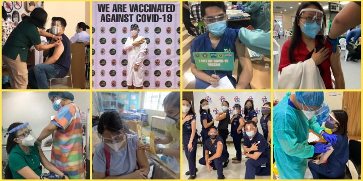 NCFPI Volunteers Got their Vaccines